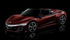 Tony Stark's Acura NSX roadster from The Avengers.