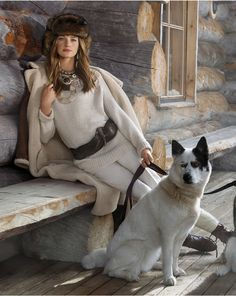 Ralph Lauren Collection Fall 2015 - Photographed by Jimmy Nelson Ralph Lauren Love, Jimmy Nelson, Alpine Style, Luxury Lifestyle Women, Snow Outfit, Lauren Hutton, Different Art Styles, Cold Weather Fashion, Dogs