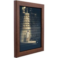 Craig Frames Contemporary Honey Brown Picture Frame