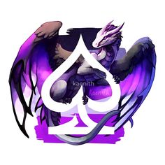 Asexual Pride Dragon von kaenith