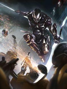 Galaxy Saga: Lance Wielder Advanced by ukitakumuki on deviantART