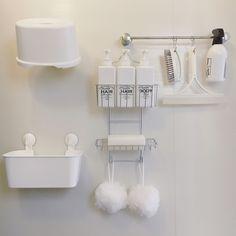 Bathroom/無印良品/ダイソー/IKEA/収納/お風呂...などのインテリア実例 - 2017-09-15 08:31:01   RoomClip (ルームクリップ)