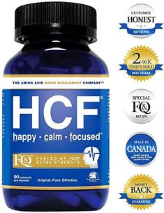 HCF Happy Calm Focused Brain Supplement Amino Acids Vitamins and Minerals for Memory Attention Focus Mood Concentration Sleep Weight Loss Energy Confidence and Hormone Balance -- To view further for this item, visit the image link. Supplements For Anxiety, Brain Supplements, Weight Loss Supplements, Nutritional Supplements, Vitamins For Memory, Protein Shakes For Women, Learning Ability, Hormone Balancing, How To Increase Energy
