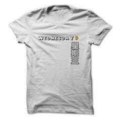 xingqisan wednesday T Shirts, Hoodies. Check price ==?