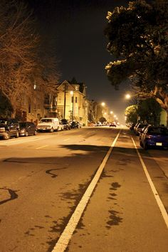 Golden Gate Ave by Night