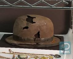 Hat found from the Titanic