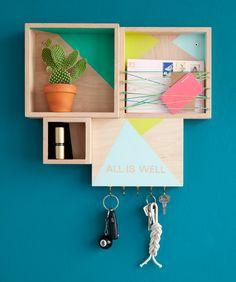 """Às vezes, um nicho só não é suficiente, tem que ter vários! hahahaha Por isso, o post de hoje do bloguinho vai mostrar como fazer um """"combo"""" de nichos bacana para a parede sua sua casa. A ideia é q..."""
