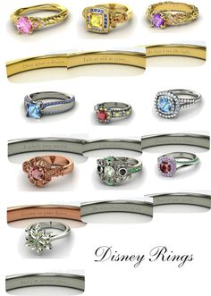 """Disney Rings"" by hhatton on Polyvore"