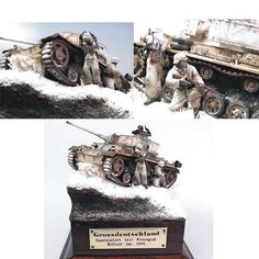 Grossdeutschland Diorama Tamiya's 1/35 By:Eamonn Sheahan From:hsfeatures  #scalemodel #plastimodelismo #war #guerra #guerre #bataille #modelismo #plasticmodel #plastimodelo #plastickits #usinadoskits #udk #miniatura #miniature #maqueta #maquette #modelismo #modelism #modelisme #diorama #dio #cold #snow #grossdeutschland