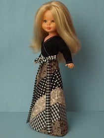 Cotton Dresses, Blue Dresses, Nancy Doll, Wellie Wishers Dolls, American Girl Crafts, Barbie Dress, Doll Crafts, America Girl, Girl Doll Clothes