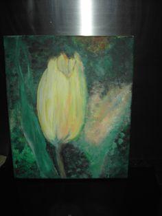 """LENTE"" - 30 x 25 cm - Acrylverf - Eigen werk-Own work !! Made by MIK (miek de keyser - Ranst - Belgium)"