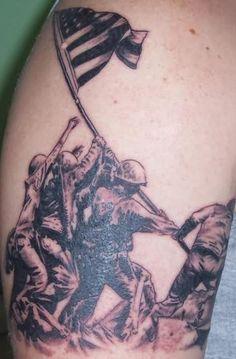 Winning Moment Marine Tattoo