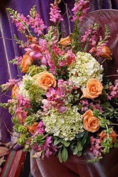 WOW!  Now that's a flower arrangement!  Get your four complimentary tickets to one of our Luxury Bridal Events at www.bridalexpotickets.com