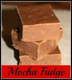 Mocha Fudge Recipe - sinfully delicious!