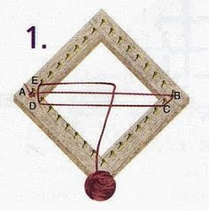 Pin Weaving, Tablet Weaving, Weaving Art, Tapestry Weaving, Loom Weaving, Weaving Textiles, Weaving Patterns, Circle Loom, Loom Knitting Stitches