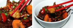 Pratos Que Falam: Cubinhos de Porco à Chinês