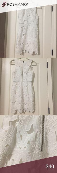 ASTR lace mini dress. Size Small. ASTR lace mini dress. Size Small. Beautiful dress that is so forgiving! Worn once for a bridal shower! Astr Dresses Mini