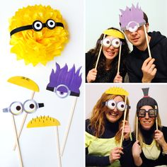 Minion photo booth. Stay yellow