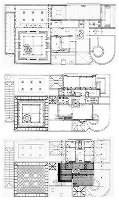 Oswald Mathias Ungers | Casa y estudio del arquitecto (Hoy Fundación Ungers) | Colonia, Alemania | 1958-1989