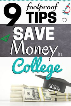 9 Foolproof Tips to Save Money in College Learn the foolproof ways to save money in college and save money as a student! Use these 9 easy money saving tips to save money fast in college! These college hacks are perfect to help you start saving money every Save Money On Groceries, Ways To Save Money, How To Make Money, Saving For College, College Hacks, Best Money Saving Tips, Money Tips, Money Hacks, Making A Budget