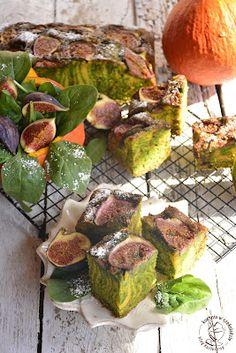 kuchnia w czekoladzie: Ciasto dyniowo-szpinakowe z figami Sprouts, Beef, Vegetables, Ethnic Recipes, Food, Meat, Essen, Vegetable Recipes, Meals