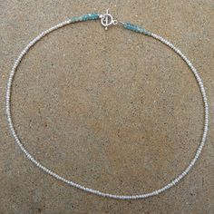 So pretty, so sweet.    Special Day Mini Pearl Necklace by MandyLemig on Etsy, $55.00