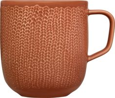 iittala Sarjaton Letti Clay Red Mug Tradition meets modern. Sipping your favorite hot beverage from iittala Sarjaton Clay Red Mug will be an experience that stimulates more senses than just taste. Sketch like lines add tactile and. Coffee Cups, Tea Cups, Modern Mugs, Tactile Texture, Red Mug, Clay Mugs, Marimekko, Modern Interior Design, Interior Styling