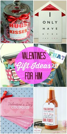 30+ Valentine's Gift Ideas for Him - a roundup of valentines gifts and treats for the hubby! { http://lilluna.com }