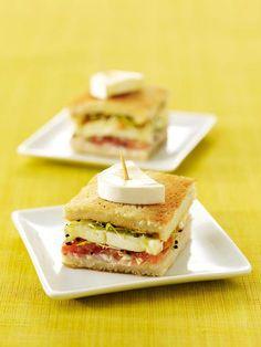 Mini croques jambon au Caprice des Dieux #cheese #DNG #PARIS #FOOD #YUMMY #COOKING