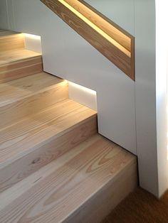 Douglas Fir Pine In 2019 Stair Decor Home Stairs Design Home Stairs Design, Railing Design, Interior Stairs, Staircase Design Modern, Stair Design, Interior Livingroom, Design Web, Type Design, Logo Design