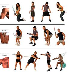Great workout at home... I take that back... a killer workout at home! I love my bodylastics when I can't hit the gym!
