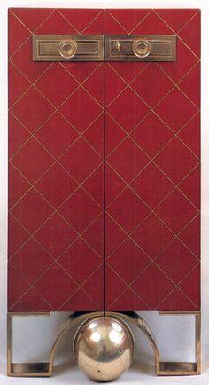 1930s Art Deco cabinet  by Eugène Printz