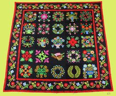 Hand Applique Baltimore Album Sampler QUILT TOP - The Best Ever !