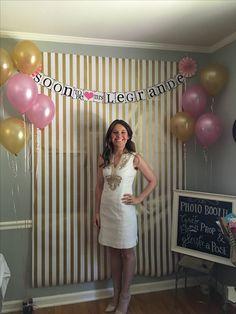 Home made photo booth Home Made Photo Booth, Home Photo, Golden Birthday, 20th Birthday, Birthday Parties, Cool Baby Stuff, White Dress, Baby Shower, Crafty