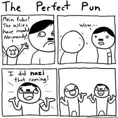 History jokes :) hahaha that's Hitlarious!