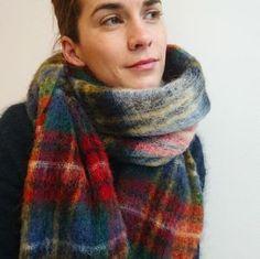 Holzweiler scarf Fresia Check - Holz Royal