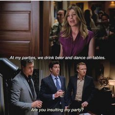 greys anatomy quotes Yes, Derek, she is Greys Anatomy Frases, Greys Anatomy Funny, Greys Anatomy Episodes, Greys Anatomy Characters, Greys Anatomy Cast, Grey Anatomy Quotes, Anatomy Humor, Derek Shepherd, Meredith Grey