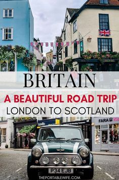 This UK road trip covers the best UK travel destinations in 9 days. Starting with a few day trips from London, including Windsor Castle and Stonehenge, the itinerary picks up with a road trip to Scotland. Visit the Cotswolds, UK Lake District, Gloucester, and Stratford-upon-Avon as England day trips, before spending 3 days in Scotland in the cities of North Berwick and Edinburgh. #roadtrip #uk #uktravel #england #scotland #london #edinburgh #travelguide