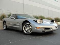 If I ever own another silver or gray car just shoot me. 2004 Corvette, Head Up Display, Media Kit, Garage, Car, Silver, Carport Garage, Automobile, Garages