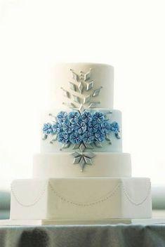 60 elegant wedding cake ideas 7