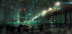 Cityscape, by Saul Espinoza