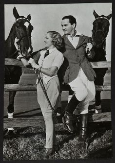 Mary Pickford and Buddy Rogers, her second husband who was 11 years her junior.