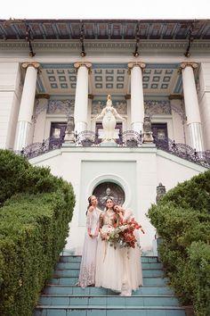 Moody Art Inspired Wedding Ideas