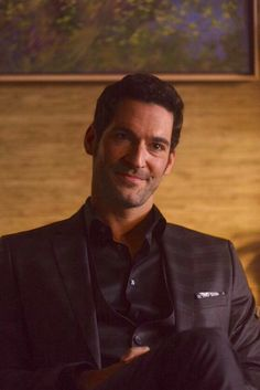 Tom Ellis in new show Lucifer on Fox. Too skinny for me but an adorable character.