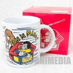Lupin the Third 3rd 30th Anniversary Esso Mug 1997 Fujiko Ver. JAPAN ANIME MANGA