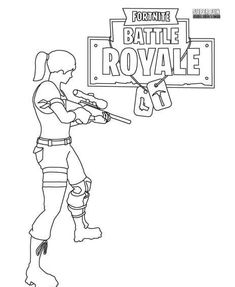Fortnite Scar Coloring Party Ideas In 2019 Pinterest Coloring