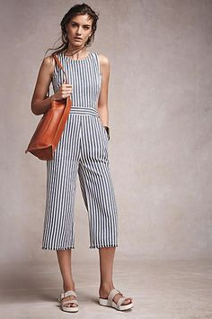 f8815170bdd Joa Sailor Stripe Jumpsuit - from anthropologie. Verónica Ayala · Good  ideas to wear