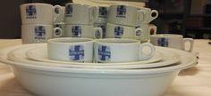 Mihin katosivat lotta-astiat?  #lottamuseo#lottasvard Mugs, Tableware, Dinnerware, Tumblers, Tablewares, Mug, Dishes, Place Settings, Cups