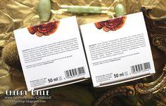 Cherry Belle Makeup & Beauty: Naturalne, wegańskie kremy do twarzy Reishi na dzień i na noc - Wiosenna nowość Orientana! Paraffin Wax