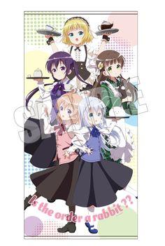 AnimeJapan 2017にて販売予定のグッズ情報を公開! -TVアニメ「ご注文はうさぎですか??」公式サイト-120㎝のビッグサイズのバスタオルです!
